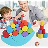 1 Set Baby Children Toys Moon Balance Game and Games Toy for 2-4 Year Old Girl & boy(Blue)