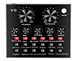 V8 Anchor Sound Card Professional Live Sound Card