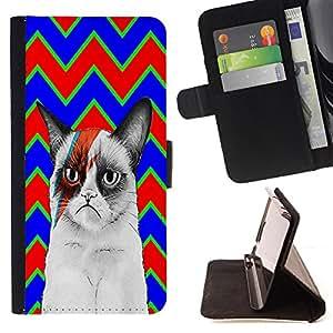Dragon Case - FOR HTC One M7 - Every man should marry - Caja de la carpeta del caso en folio de cuero del tirš®n de la cubierta protectora Shell