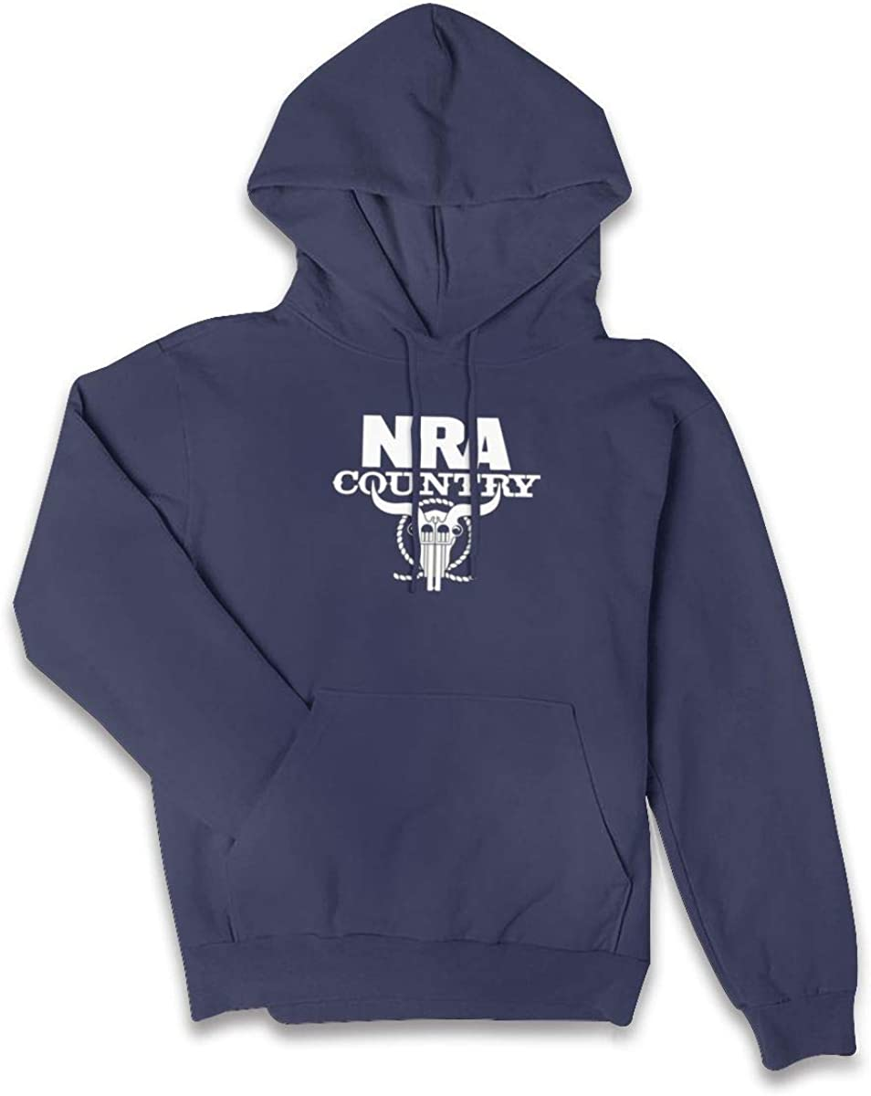 NRA National Rifle Association Sweater Hoodie Womens Hoodie with Pockets Navy