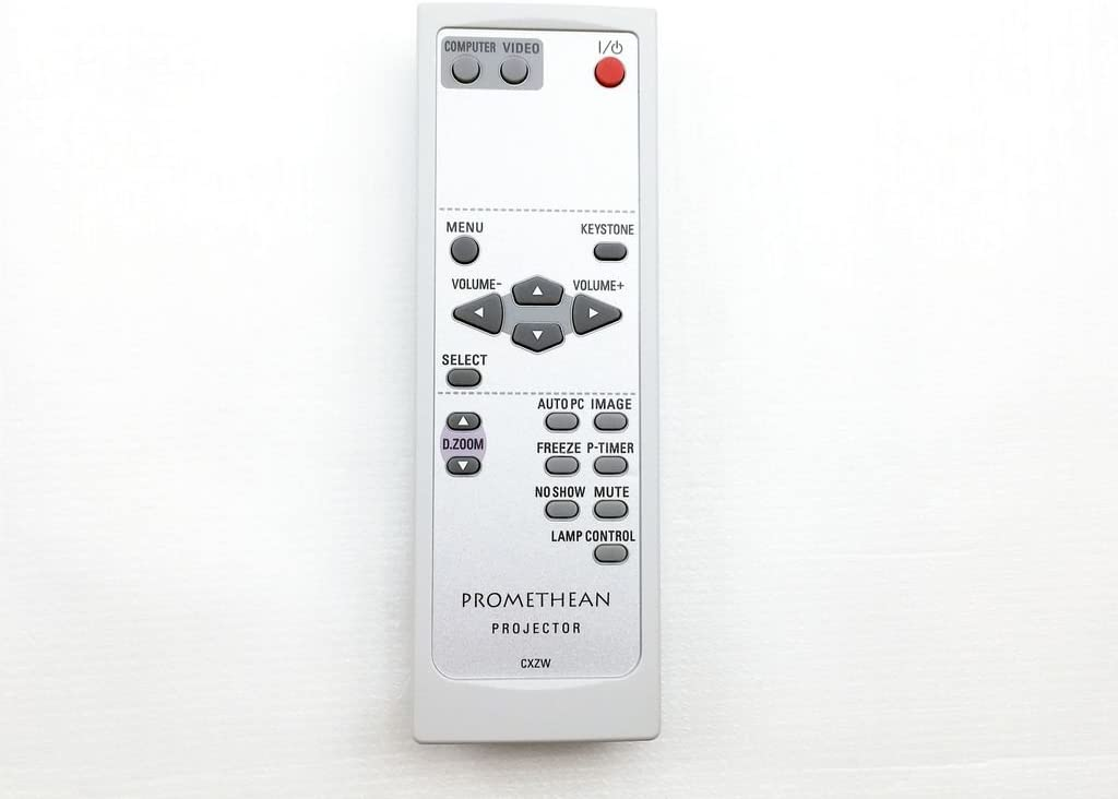 PROMETHEAN PRM-20 LCD mando a distancia del proyector cxzw: Amazon ...