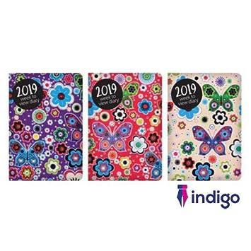 Indigo 2019 - Agenda semanal de bolsillo, diseño de ...