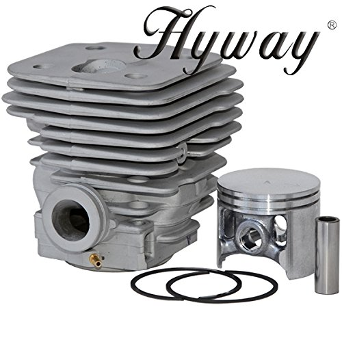 (NWP Piston & Cylinder Assembly (56mm) for Husqvarna 395XP Chainsaws)