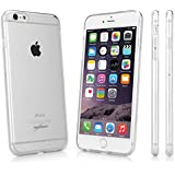 iPhone 6s Plus Case, BoxWave [Almost Nothing] Slim Hybrid Hard Clear Case with TPU Bumper Rim for iPhone 6 Plus/ 6s Plus (Crystal Clear)