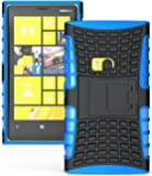 For NOKIA Lumia 920 Case,leasun Heavy Duty Armor Case Cover with Built-in Kickstand for Nokia Lumia 920 (At&t, T-mobile, Sprint, Verizon) -Blue