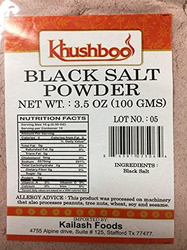 - Black Salt 3.5 oz (100 gm)