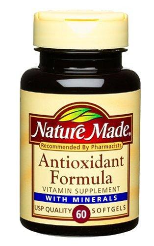 Nature Made Antioxidant Formula, 60 gélules (Pack de 3)