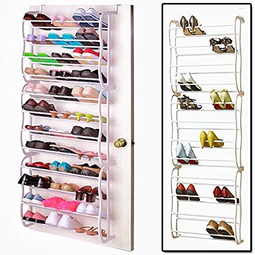 De À 36 Chaussures Rangement Organiseur Des Sur Suspendre Paire Porte Transparent Vinteky Derrière wv0xqIv