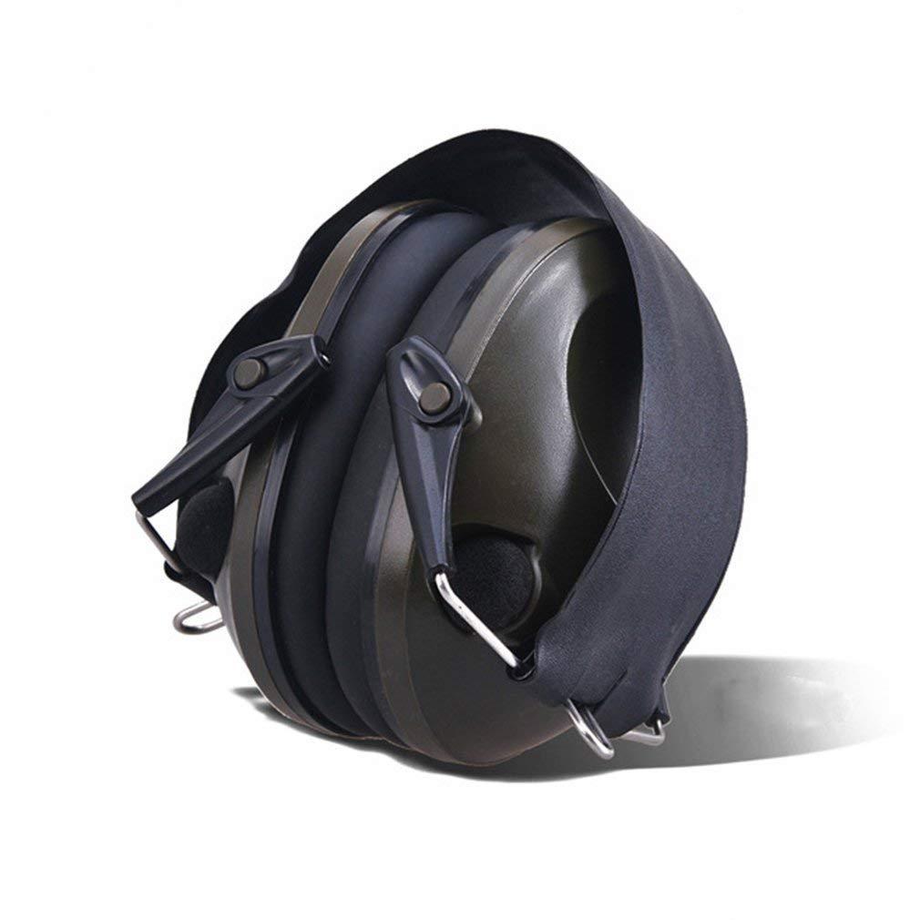 TAC 6S Conception Pliable Anti-Bruit Annulation de Bruit Casque de tir Tactique Doux rembourr/é /électronique Brassard pour la Chasse Sportive