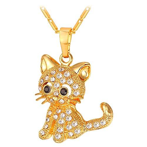 U7 Jewelry Platinum Rhinestone Necklace product image