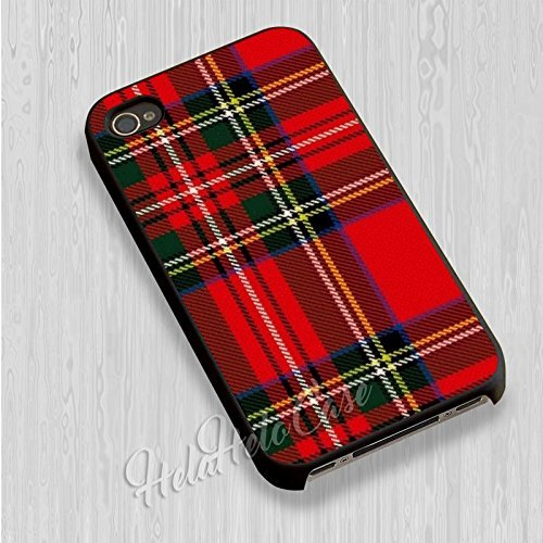 info for 08dd1 1f85c Plaid Red Tartan for iPhone 6 and iPhone 6s Case (Black Rubber Case)
