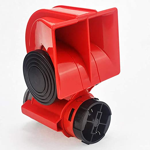 Motorrad Auto Doppelton elektrische Pumpen Fahrzeug Sirene Loud Air Horn
