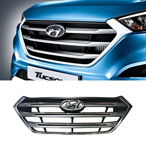 Sell by Automotiveapple, OEM Genuine 86350D3100CR Chrome Hood Radiator Grille 1-pc For 2016 Hyundai Tucson : ALL NEW TUCSON