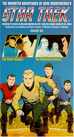 Star Trek - The Animated Series, Vol. 6: The Slaver Weapon/ The Ambergris Element [VHS] (Star Trek Cartoon)