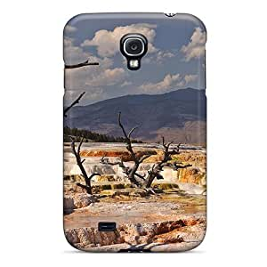 Premium Durable Mammoth Hot Springs Fashion Tpu Galaxy S4 Protective Case Cover