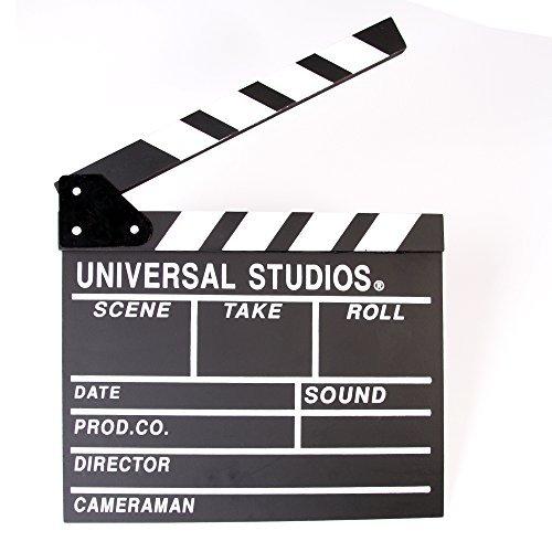 Foto4easy Professional Vintage TV Movie Film Clap Board Slate Cut Prop Director Clapper (Video Vintage Camera)