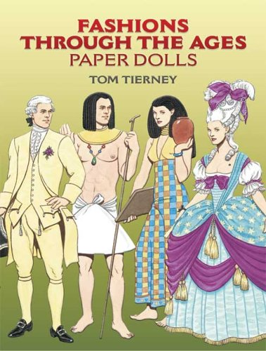 Read Online Fashions Through the Ages Paper Dolls ebook