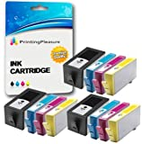 Printing Pleasure 12 (3 SETS) Compatible Chipped Ink Cartridges Replacement for HP 920XL for HP Officejet 6000 6500 6500A 7000 7500A - Black/Cyan/Magenta/Yellow, High Capacity