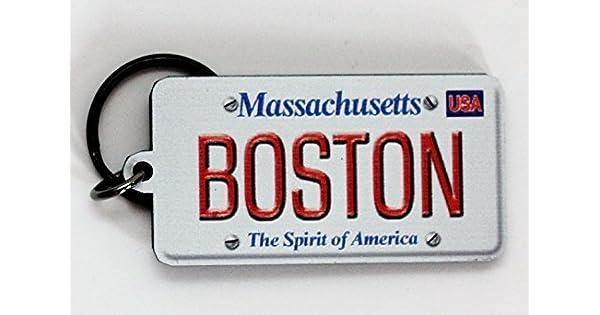Amazon.com: Boston Massachusetts Licencia Placa (acrílico ...