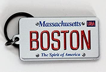 Amazon.com: Boston Massachusetts Licencia Placa (acrílico ...