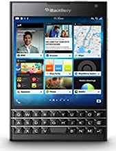 BlackBerry Passport Factory Unlocked Cellphone, 32GB, Black (U.S. Warranty)