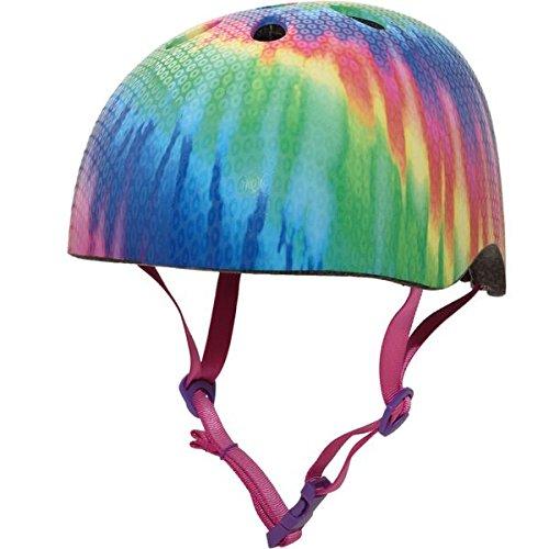 Sequin Tie Dye - Krash Girls Youth Bike Helmets