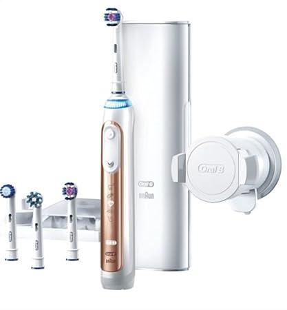 Cepillo de dientes eléctrico GENIUS 9000 de Oral-B, alimentado por Braun, color