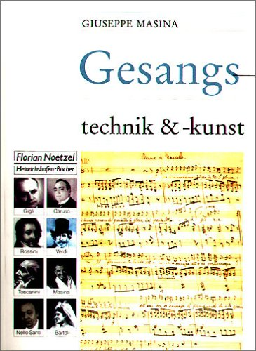Gesangstechnik und Gesangskunst