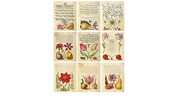 Decoupage Vintage Calligraphy Book Images Collage Sheet Scrapbooking Gift Tags Card Making