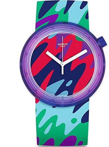 Swatch Men's Originals PNP101 Multi Silicone Quartz Watch