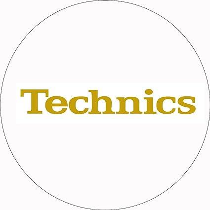 Technics - Patinador para tocadiscos (1 par), color blanco y ...