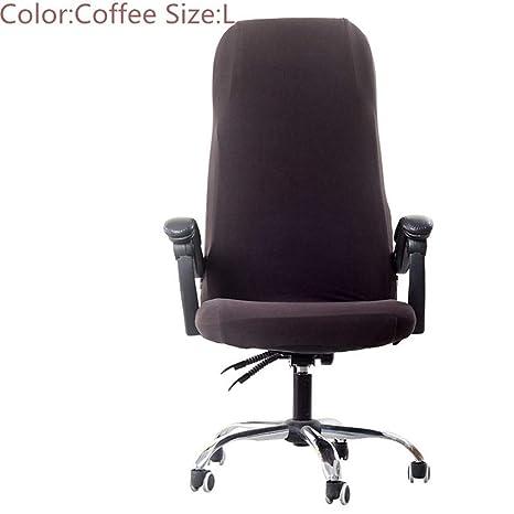 Amazon.com: Funda elástica para silla de oficina ...