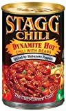 Stagg Dynamite Chili with Beans, 15-Ounce (Pack of 6)