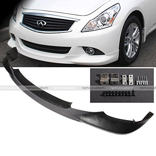 10 11 12 13 Infiniti G37 4DR Sedan PU Front Body Bumper Lip Spoiler Kit