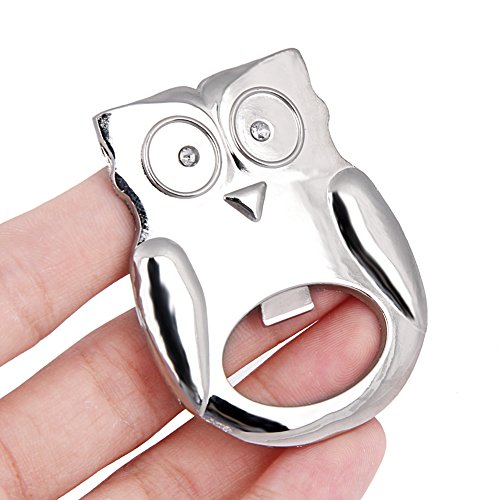 Beer Opener - Stainless Owl Shaped Bottle Beer Opener Gadgets Dining Amp Bar Cooking Wedding Party Bridal - Texans Tooth Holder License Dad 6s Collar Vrod Decor Of