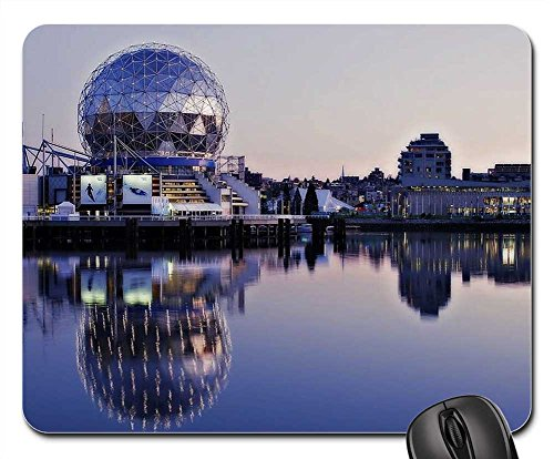 Mouse Pad - Science World False Creek Vancouver British - Optical Vancouver
