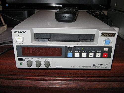 Sony DSR-20 DVCAM / DV / MiniDV VTR Player/Recorder (Players Dv Mini)