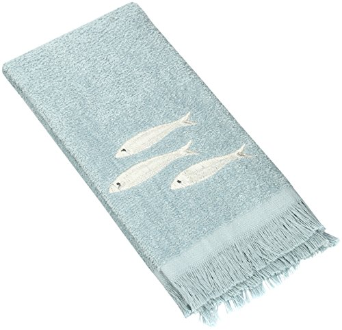 Avanti Linens Nantucket Fingertip Towel, Mineral