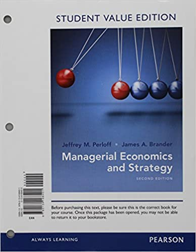 Managerial economics and strategy student value edition plus mylab managerial economics and strategy student value edition plus mylab economics with pearson etext access card package 2nd edition the pearson series in fandeluxe Image collections