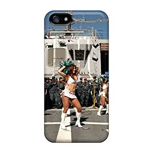 PC For Ipod Touch 4 Phone Case Cover With Miami Dolphins Cheeerleaders Outfit