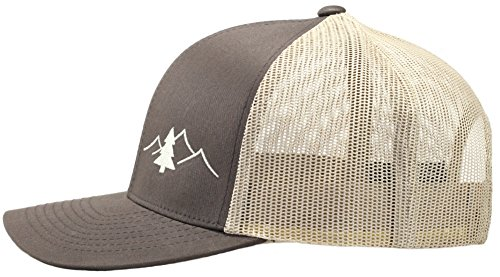 Amazon.com  Lindo Trucker Hat - Great Outdoors Collection (Black)  Clothing 769e42764dc0