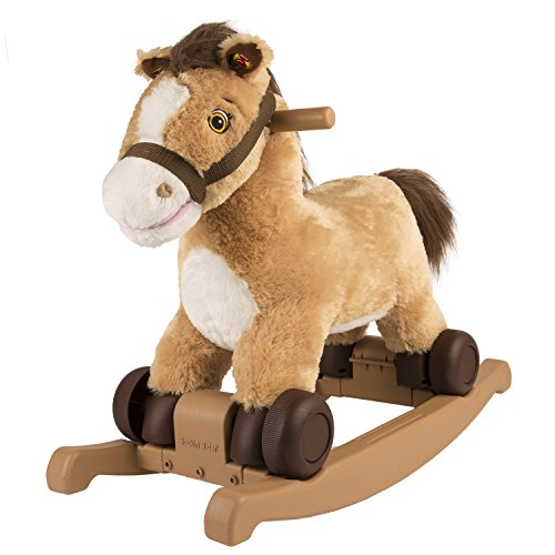 Brown Rocking Horse - Rockin' Rider Charger 2-in-1 Pony Ride-On