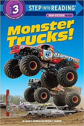 Monster Trucks!: Step Into Reading 3 Descargar Epub Ahora