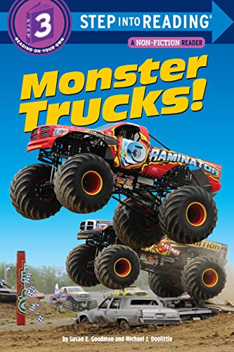 Monster Trucks! (Step into Reading) (Monster Truck Books For Boys)