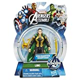 avengers loki figure - Marvel Avengers Assemble Loki Action Figure 3.75 Inches