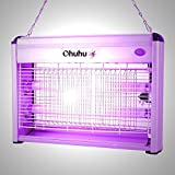 New Killer Electronic Mosquito Insect Zapper Bug Fly Indoor Outdoor Lamp 20 Watt Control Pest Uv Swatter Trap Light Led Bugs Repellent New Flying offers