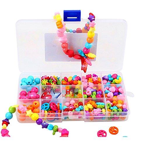 プラスチックビーズ玩具ビーズ工芸手作りの子供のおもちゃ ( Color : B )