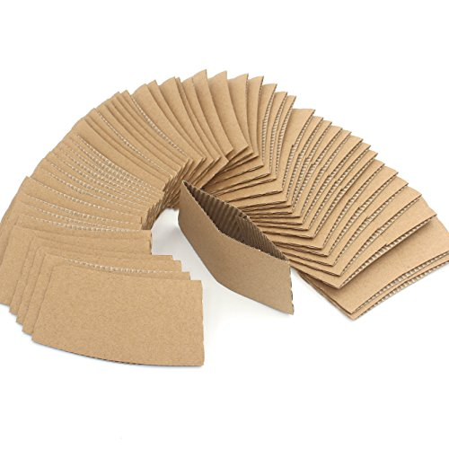 WARMBUY Coffee Cup Sleeves, 100 Count