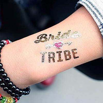 Xinlie Tatuajes Temporales Tatuajes Pegatinas Falso Tatuajes ...