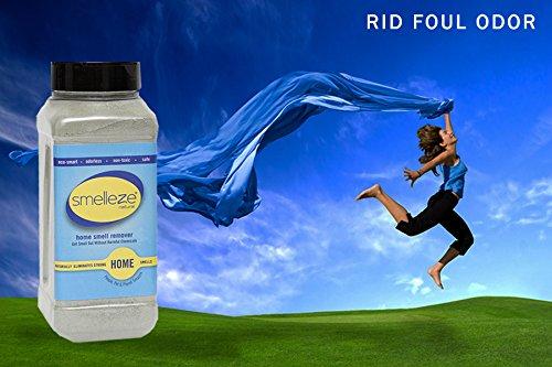 SMELLEZE Natural Room/House Odor Eliminator Deodorizer: 50 lb Granules Get Home Smell Out Fast by SMELLEZE (Image #2)